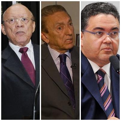 João Alberto, Edison Lobão e Roberto Rocha apoiam o presidente Michel Temer