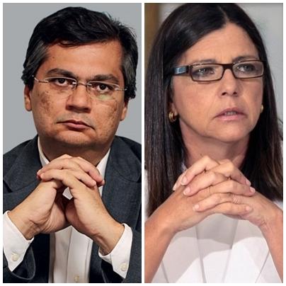 Flávio Dino e Roseana Sarney: movimentos visando o cenário pós-Michel Temer