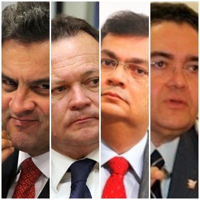 Aécio Neves pode tirar o PSDB de Carlos Brandão por causa de Flávio Dino e entregá-lo a Roberto Rocha