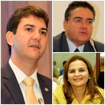 Eduardo Braide aparece à frente de Roberto Rocha e Maura Jorge