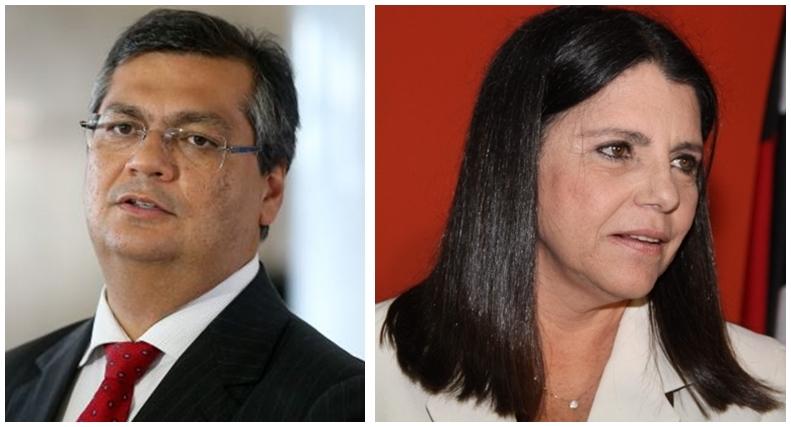 Flávio Dino e Roseana Sarney deverão se enfrentar nas eleições do ano que vem