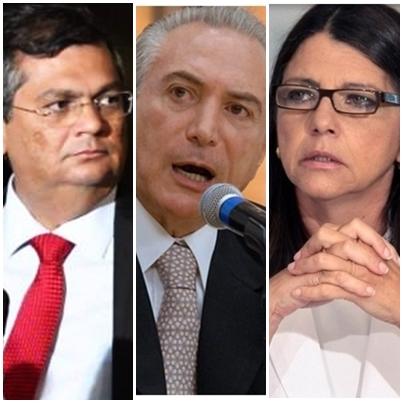 Flávio Dino continuará em oposiçao a Michel temer, que continua apoiado por Roseana Sarney