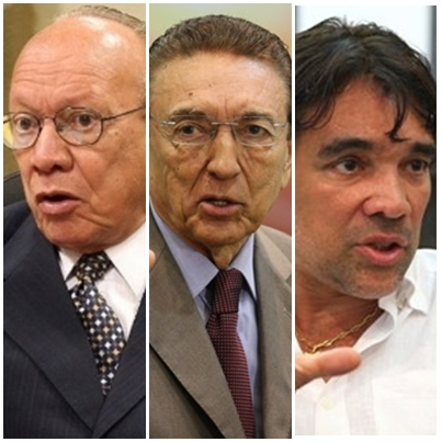 João Alberto, Edison Lobão e Lobão Filho: com ficará a segunda vaga?