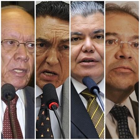 João Alberto, Edson Lobão, Sarney Filho e Nicolao Dino no centro da crise