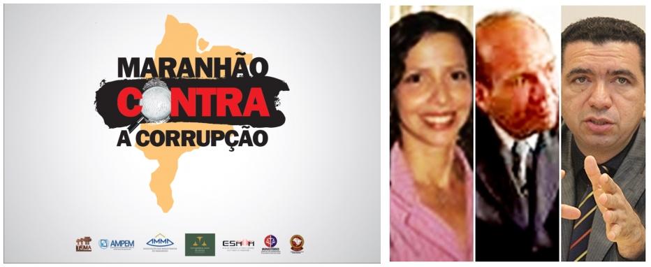 Movimento contra a corrupção mobikizou juízes como Denise Pedrosa, Rafael de Jesus Serra e Douglas Martins