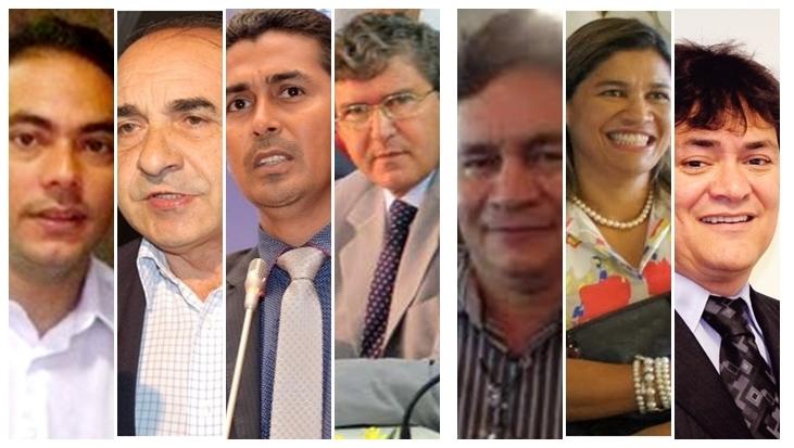 Assis Ramos, Sebastião Madeira, Marco Aurélio, Ildon Marques, Ribinha Cunha, Rosângela Curado e Léo Cunha podem influenciar em Imperatriz