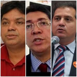 Márcio Jerry, Jefferson Portela e Simplício Araújo são pré-candidatos à Câmara Federal