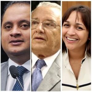 Weverton Rocha, José Reinaldo e Eliziane Gama: nomes fortes para o Senado aliados a Flávio Dino