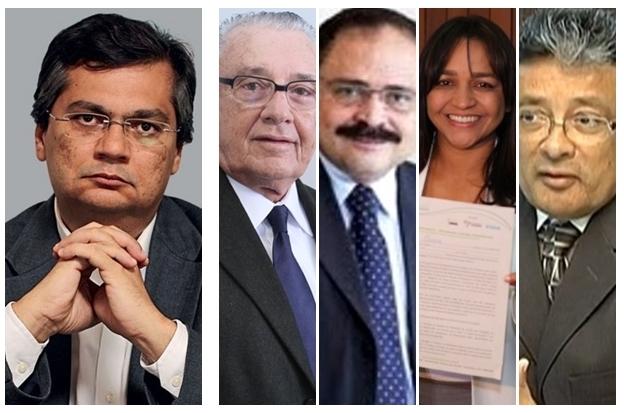 Flávio Dino deverá escolher entre José ReinadoWaldir Maranhão, Eliciane  gama ou Carlos madeira