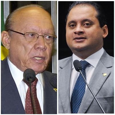 João Alberto e Weverton Rocha: diferenças levam tensões a sessão do Congresso Nacional