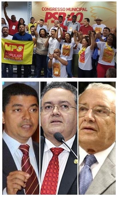 Congresso do PSB festeja eleiççao de Bira do Pindaré; Roberto Rocha e José Reinaldo podem deixar o partido