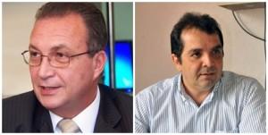 Luis Fernando Dilva e Hilton Gonçalo: possibilidades remotas na disputa para o senado