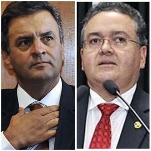 Aécio Neves pode atrapalhar reentrada de Roberto Rocha no PSDB