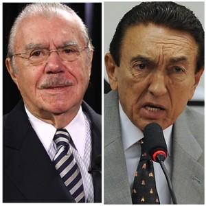 José Sarney e Edison Lobão contestam denúncia de Rodrigo Janot