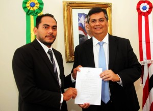 Assis Ramos e Flávio Dino: boa relação institucional