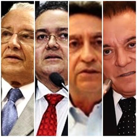 José Reinaldo, Roberto Rocha, Ricardo Murad e Raimundo Cutrim: exemplos de contradição ideológica
