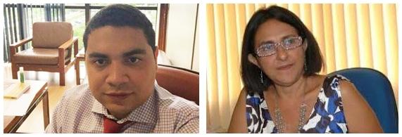 Hewerton Pereira e Terezinha Fernandes: PP e PT reforçando aliança