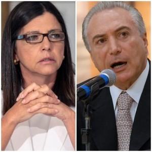Roseana Sarney articula suporte político e parlamentar para o presidente Michel Temer