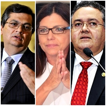 Flávio Dino vai para o confronto direto com Roseana Sarney e Roberto Rocha