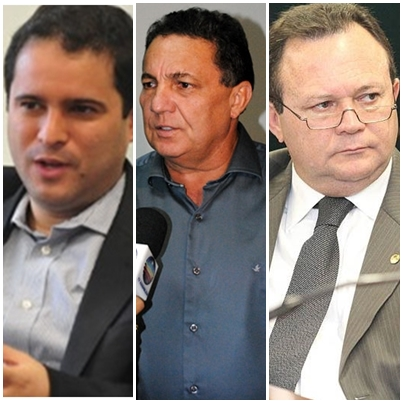 Edivaldo Jr., Tema Cunha e Carlos Brandão são opções para a vice de Flávio Dino