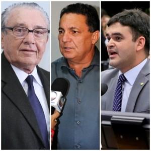 Zé Reinaldo embalado por Tema Cunha e Rubens Jr.