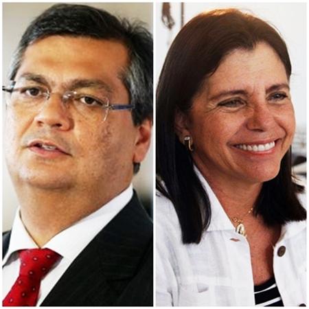 Flávio Dino e Roseana Sarney: posições diferentes em situações parecidas