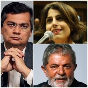 Flávio Dino agora deve escolher entre Lula e Manuela D`Ávila