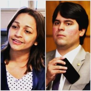 Eliziane Gama e André Fufuca: nova geração se articula