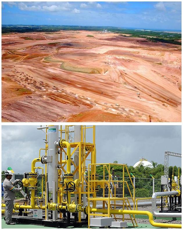 Campo aberto pode receber nova refinaria; novo campo de gás em Capinzal do Norte
