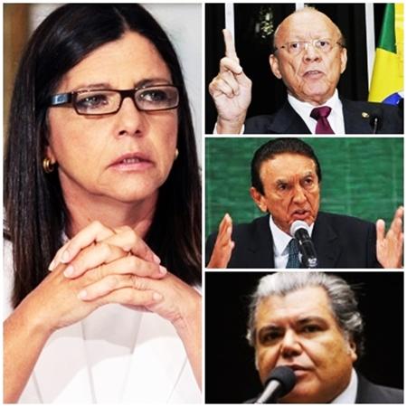 Roseana Sarney terá de montar chapa com João Alberto, Edison Lobão e Sarney Filho