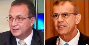 Luis Fernando Silva e Sérgio Frota: situação delicada