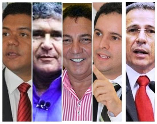 Luciano Leitoa, Ildon Marques, Tema Cunha, Edivaldo Jr. e Zé Carlos: nomes para vice de Flávio Dino