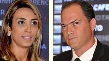 Andrea Murad e Souza Neto: situação embaraçosa no PMDB e no PROS