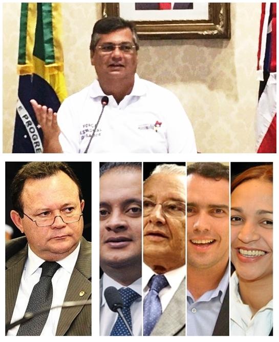 Flávio Dino deve manter Carlos Brandão como vice e escolher os dois senadores entre Weverton Rocha, José Reinaldo, Márcio Jardim e Eliziane Gama