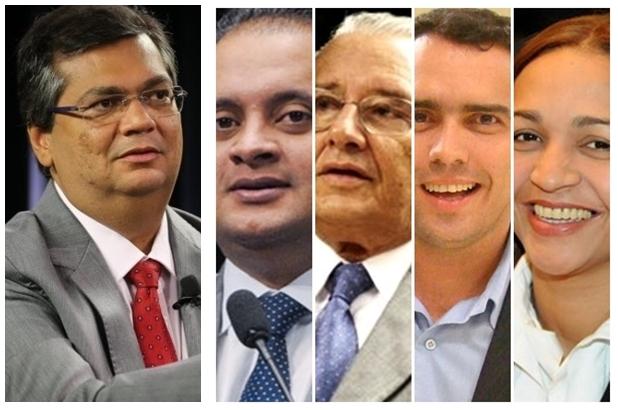 Flávio Dino dispõe de Weverton Rocha, José Reinaldo, Márcio Jardim e Eliziane Gama para o Senado