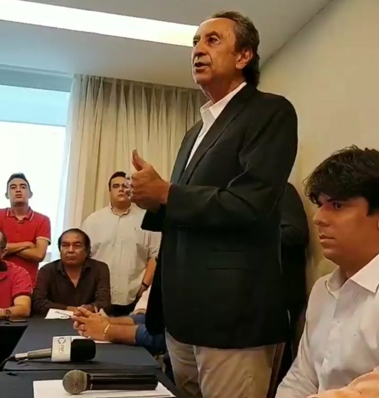 Ricardo Murad anuncia sua candidatura ouvido por severino Sales