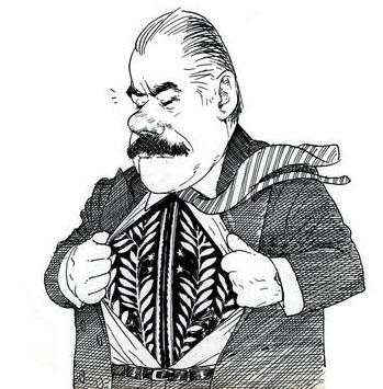 O político José Sarney sempre se impôs ao escritor