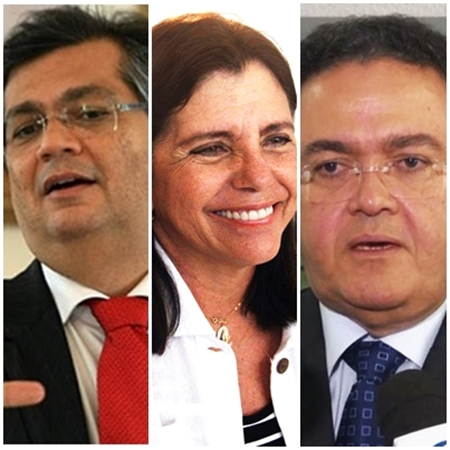 Flávio Dino comanda a máquina estadual e Roseana Sarney e Roberto Rocha usarão a máquina federal