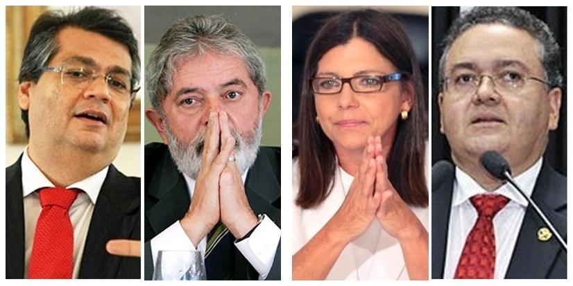 Flávio Dino defende Lula, enquanto Roseana Sarney e Roberto Rocha o querem fora da corrida eleitoral