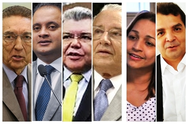 Edison Lobão, Weverton Rocha, Sarney Filho, José Reinaldo, Eliziane Gama e Hilton Gonçalo: todos com peso para surpreender