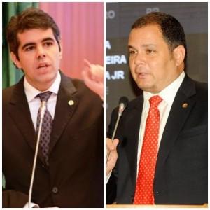 Adriano Sarney e Rogério Cafeteira expressaram a tensão pré-eleitoral