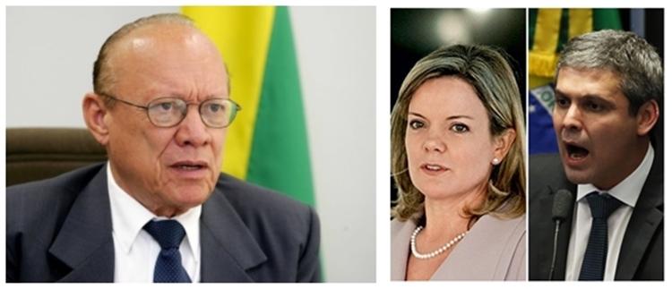 João Alberto vai decidir o futuro de Gleisi Hoffmmann e Lindbergh Farias no Conselho de Ética