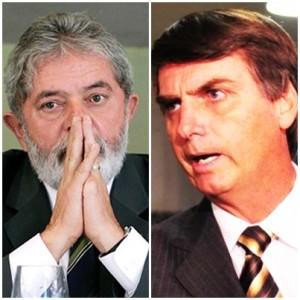 Lula da Silva perde força, mas mantém desemoenho impressionante; Jair Bolsonaro cresce