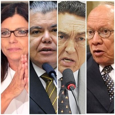 Roseana Sarney, Sarney Filho, Edison Lobão e João Alberto não estão brigando