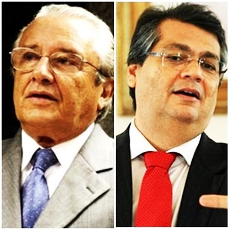 José Reinaldo e Flávio Dino: rompimento sem volta