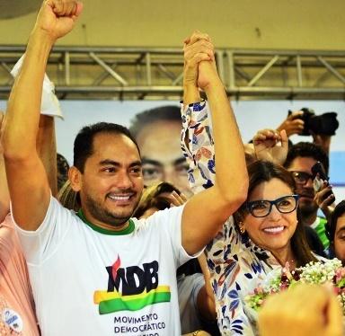 Assis Ramos apoia Roseana Sarney: manifestação em recinto fechado