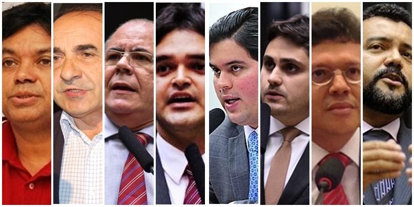 Márcio Jerry, Sebastião madeira, Hildo Rocha, Rubens Jr., André Fufuca, Juscelino Filho, João Marcelo e Cléber Verde são considerados nomes certos na próxima Câmara Federal