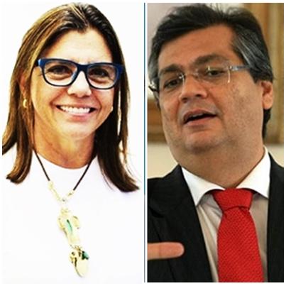 Roseana Sarney faz discursos agressivos contra Flávio Dino