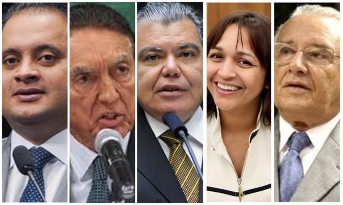 Weveerton Rocha, Edison Lobão, Sarney Filho parecem consol,idados, enquanto Eliziane Gama e José Reinaldo tentam definição