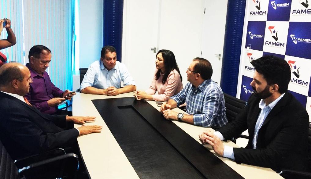 Cleomar Tema e Eliziane Gama conversaram sobre quadro político e demandas municipais